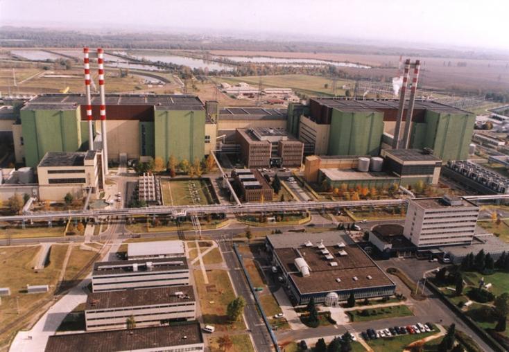 Süllyed a paksi atomerőmű negyedik blokkja