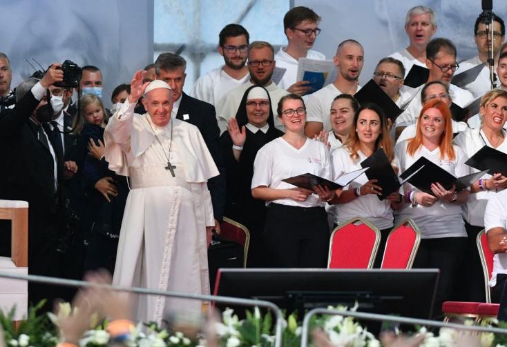 Ferenc pápa ma befejezi szlovákiai látogatását, így telik az utolsó napja