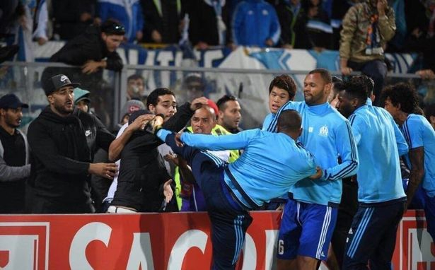 Evrát felfüggesztette az Olympique Marseille