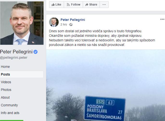 """Pellegrini lebőgött a 63-as úti """"incidenssel"""", a kommentelők hülyét csináltak belőle"""