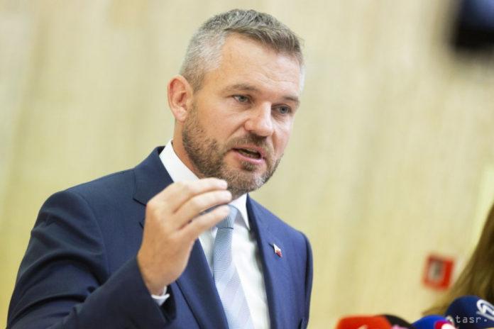 Pellegrini felszólította Čaputovát az ügyészségről szóló törvénnyel kapcsolatban
