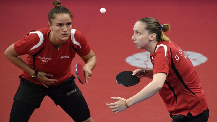 Kijutott a tokiói olimpiára a magyar női pingpongcsapat