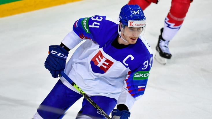 Szlovák lett a rigai jégkorong-vb legjobb támadója