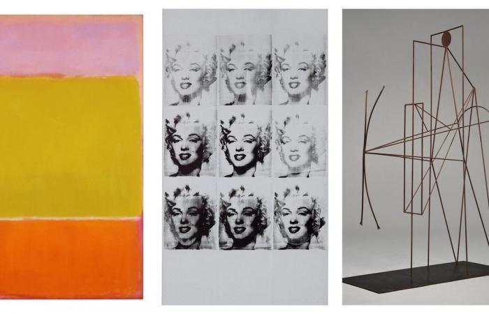 Warhol- és Picasso-alkotást is tartalmazó gyűjteményt árvereznek el