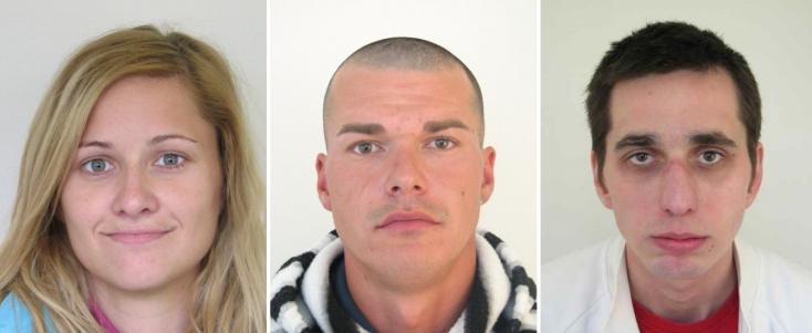 Ezt a három személyt körözik a zsaruk a Galántai járásból