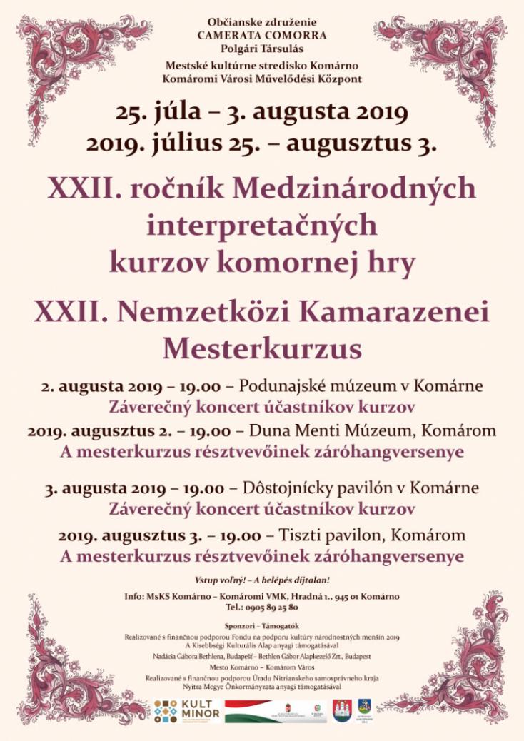 Záróhangversenyek a Duna Menti Múzeumban és a Tiszti Pavilonban