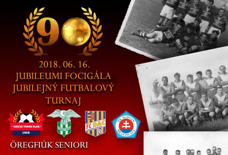 Régi csaták hőseinek jubileumi focitornája Ekecsen