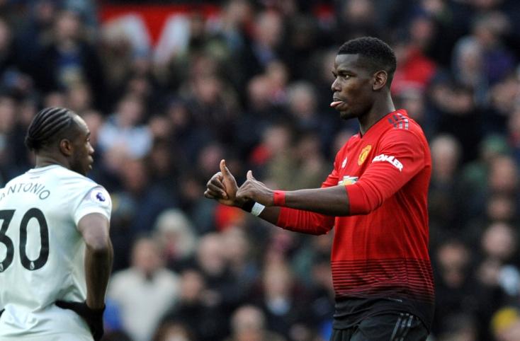 Premier League - Pogba két tizenegyesével nyert a Manchester United
