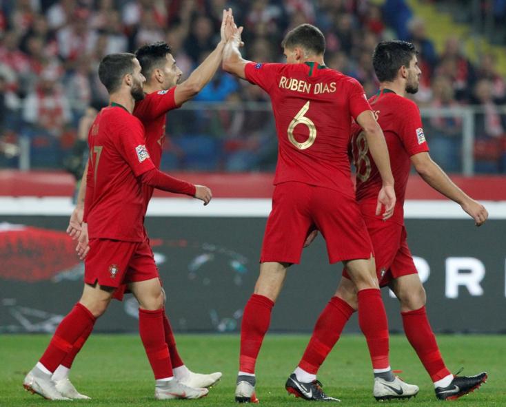 Nemzetek Ligája: Portugál siker Lengyelországban