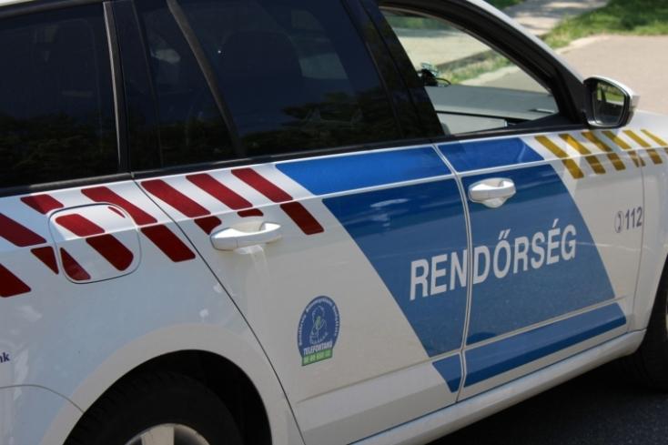 Villanyoszlopnak hajtott egy szlovák kamion Csobád határában, a sofőr meghalt