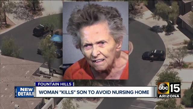 Agyonlőtte fiát a 92 éves nő, mert idősotthonba akarta adni