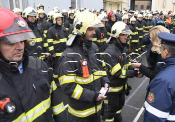 Saková az eperjesi robbanás utáni mentésben részt vevő tűzoltókat tüntetetett ki