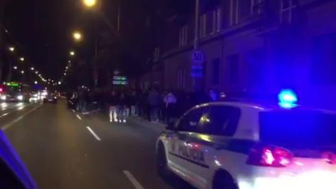 Több százan vonultak utcára az éjszaka Pozsonyban