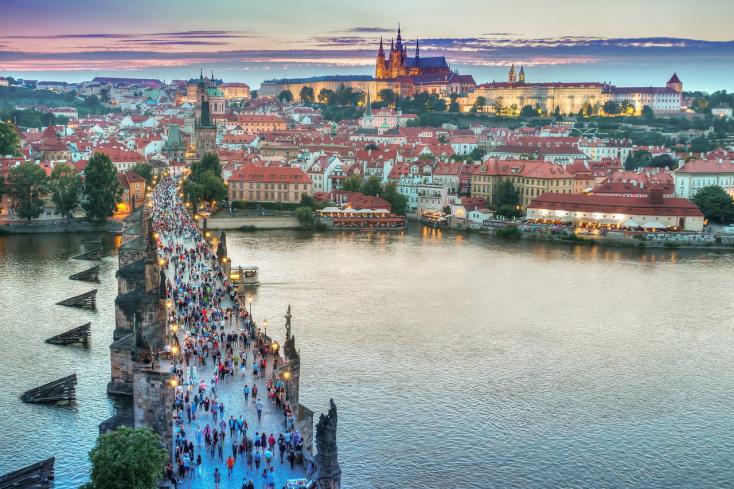 244 év alatt nem volt olyan meleg nyár Prágában, mint idén