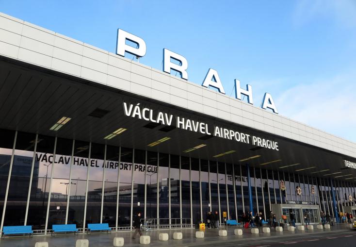 Rekordszámú 17,8 millió utast kezelt tavaly a prágai repülőtér