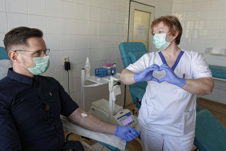 Óriásit csökkent a véradók száma Szlovákiában