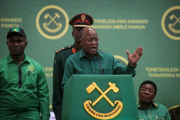 Először ismerte el a tanzániai elnök, hogy a fertőzés jelen van az országában