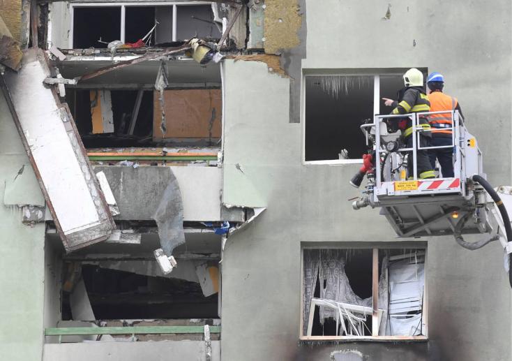 Egy biztonsági kamera megörökítette a robbanást Eperjesen! (Videó)