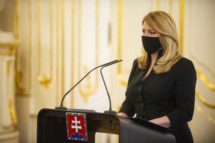 Čaputová csalódottan értékelte az oltás körül kialakult helyzetet