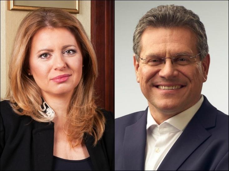Čaputová beszólt Kiskának, Šefčovič kizárta, hogy Ficót az alkotmánybíróságra küldené