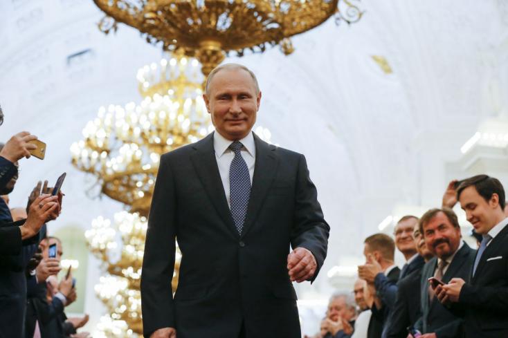 Váratlanul találkozott egymással Aszad és Putyin