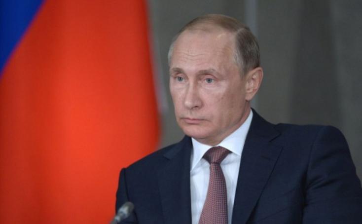 """Putyin: Az Egyesült Államok """"ketrecharcot"""" folytat a kereskedelmi háborúkban"""