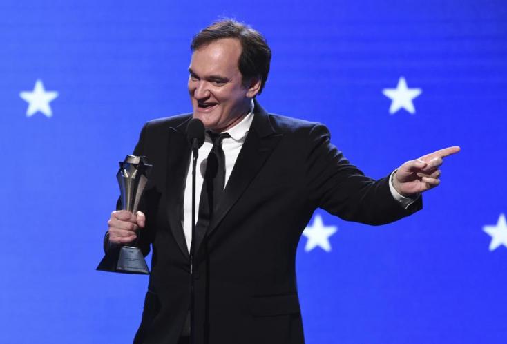 Az amerikai kritikusoknál a Volt egyszer egy Hollywood a nyerő