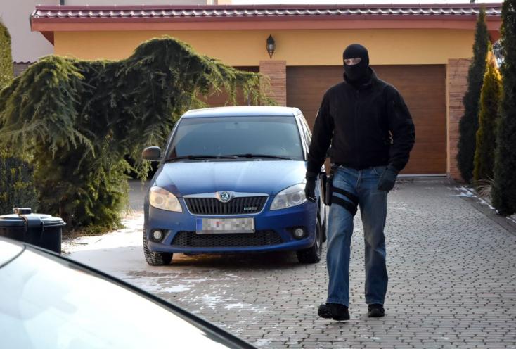 A rendőrség házkutatást tartott Vadalánál, aki után Kuciak nyomozott (FOTÓK)