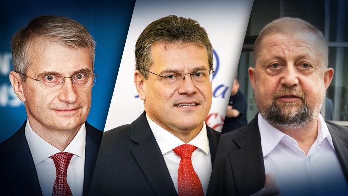 FELMÉRÉS: Mistrík és Šefčovič a legerősebb államfőjelöltek, Bugárt megelőzi Harabin