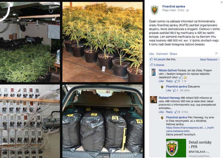 A vámosok szerint 7 millió euróba kerül egy gramm marihuána
