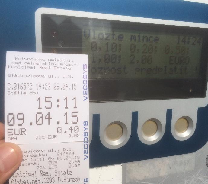 Az érzés, amikor megveszed a parkolójegyet, de már le is járt – megfizethetetlen!