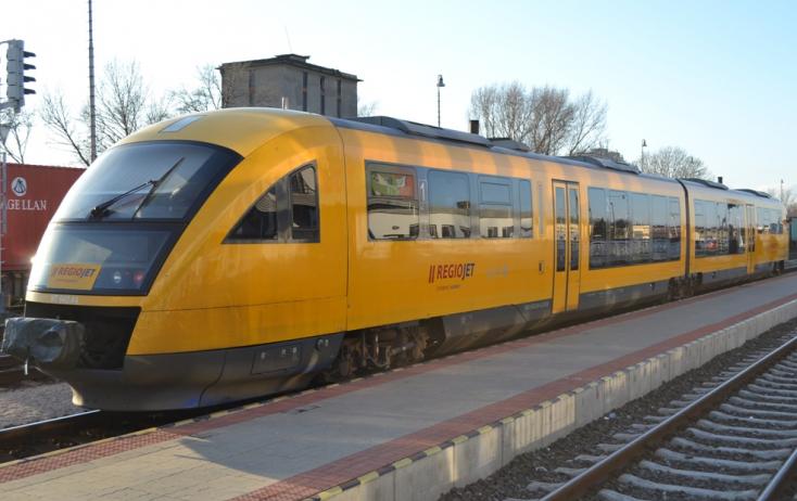 Rendkívüli helyzet a Dunaszerdahely–Pozsony vasúti szakaszon: ezért késtek a RegioJet vonatai