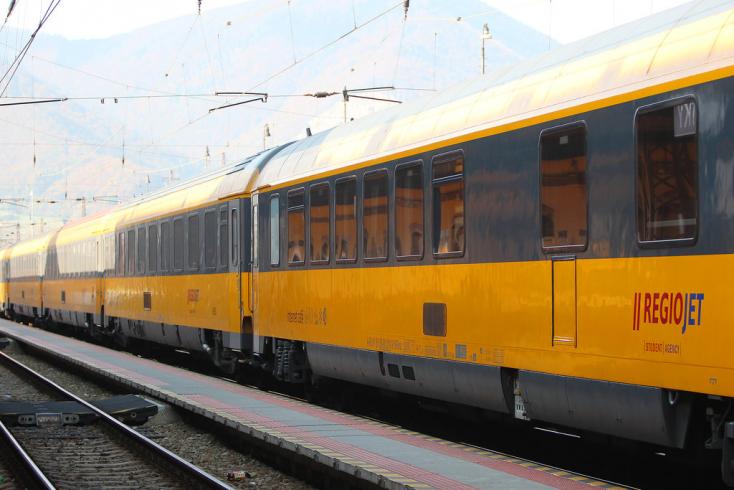 Péntektől naponta indít vonatokat a RegioJet Pozsonyból Horvátországba