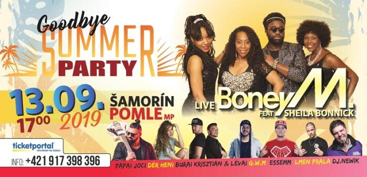 Goodbye Summer Party: Búcsúzzon a nyártól egy fergeteges Boney M. bulival Somorján!