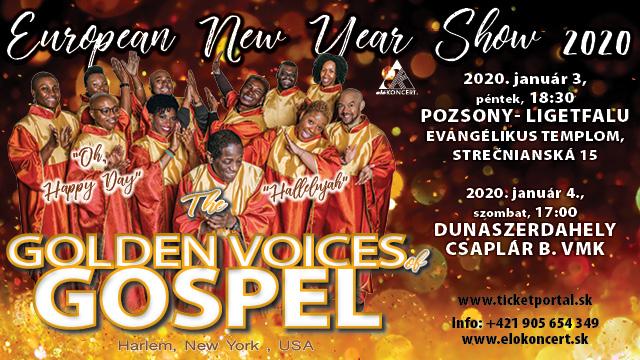 """""""OH HAPPY DAY"""" -  Újévi gospel gála Pozsonyban és Dunaszerdahelyen!"""