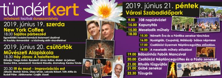 Tündérkert Művészeti Fesztivál 2019