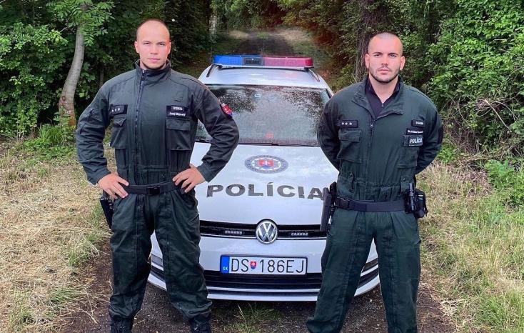 Két dunaszerdahelyi rendőr mentett meg éjjel egy vérző eszméletlen férfit a gimnázium közelében