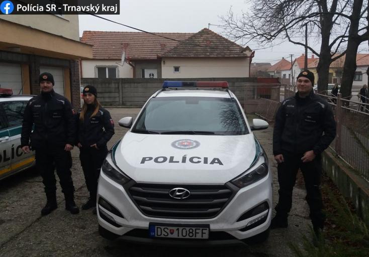 Nagymegyeri és bősi rendőrök mentették meg a csilizradványi idős férfit!