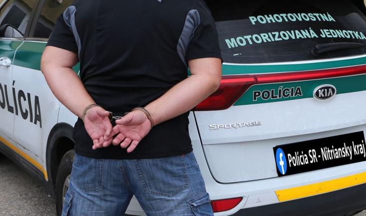 Szökésben lévő bűnöző akadt a komáromi rendőrök horgára!
