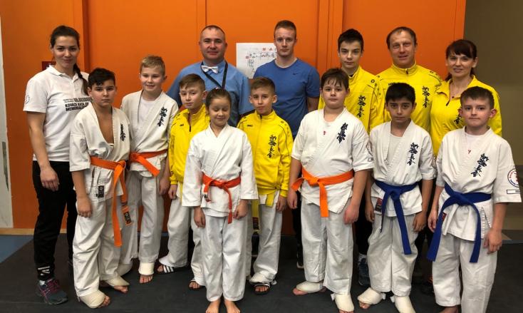 Nemzetközi karateversenyen remekeltek a Seishin Karate Klub növendékei