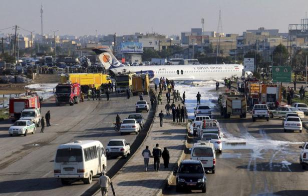 Kicsúszott a leszállópályáról egy utasszállító 150 emberrel a fedélzetén
