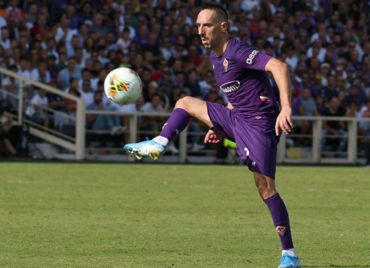 Hat hónap szünet után edzésbe állt Franck Ribéry