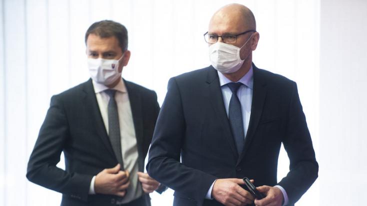 Matovič szerint Sulík szavazatokat gyűjtött ellene, hogy sikerüljön meneszteni