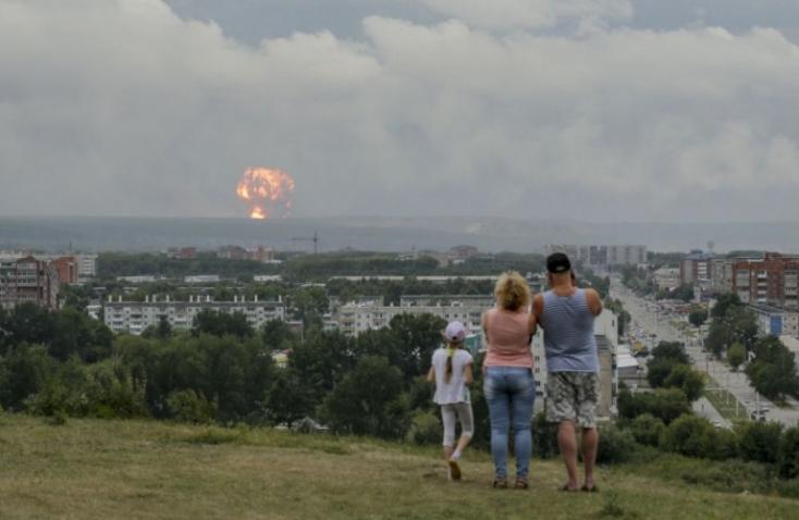 Nagy valószínűséggel két robbanás is történt az észak-oroszországi fegyverkísérlet során