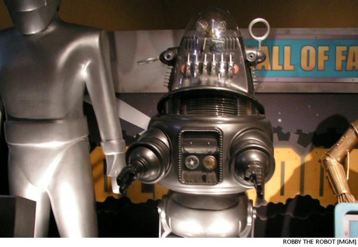 Minden idők legdrágább, árverésen elkelt filmes relikviája lett a Tiltott bolygó robotfigurája