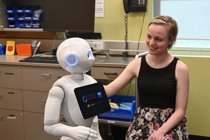 A robotok segíthetik a depressziósokat