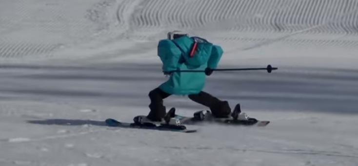 Phjongcshang 2018: Síelő robotok is megmérkőztek az olimpián (videó)