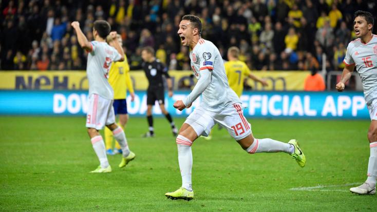 Eb-selejtezők - A spanyolok 92. percben lőtt góllal jutottak ki