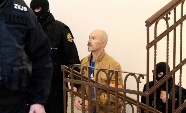 Kicsi az esélye annak, hogy Jozef Roháč szlovákiai börtönben akarja tölteni a büntetését