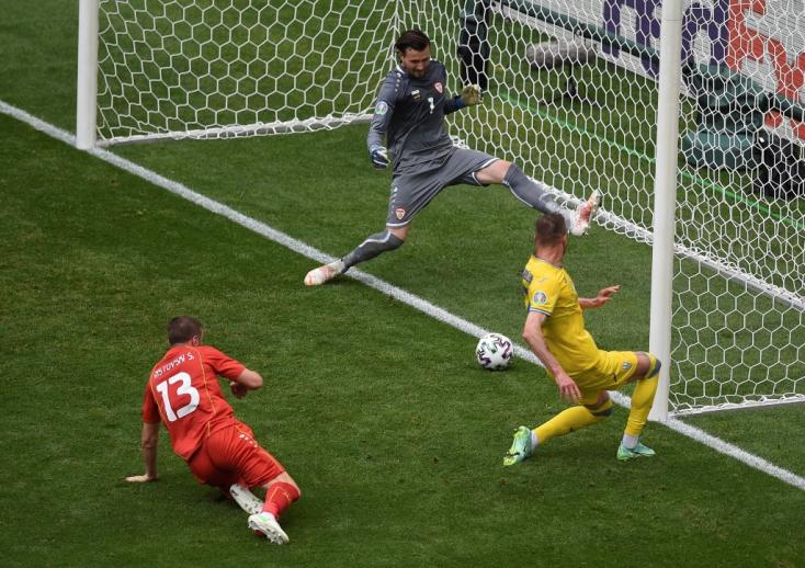 EURO-2020 - Ukrajna - Észak-Macedónia 2-1